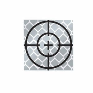 20mm Reflective Retro Target, Stick-ons (10 Pack)