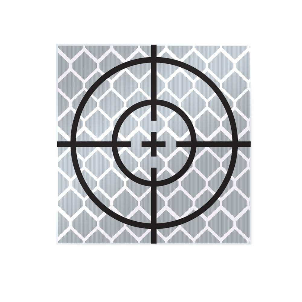30mm Reflective Retro Target, Stick-ons (10 Pack)