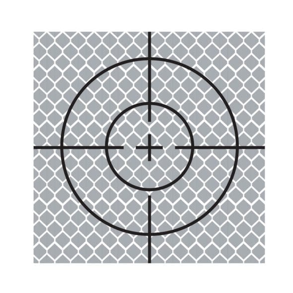 70mm Reflective Retro Target, Stick-ons (10 Pack)
