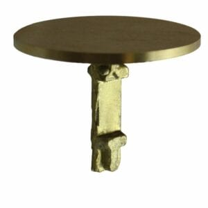 Survey Marker, 2-1/2 in (63.5mm), Dome