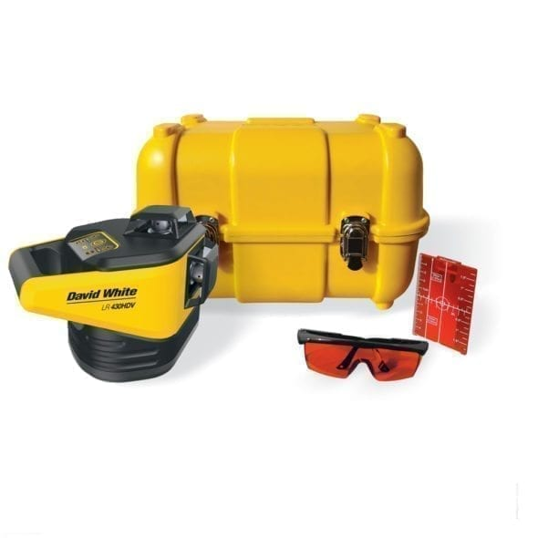 LR 430HDV Electronic 3-Dimensional Rotary Laser, Glasses and Target
