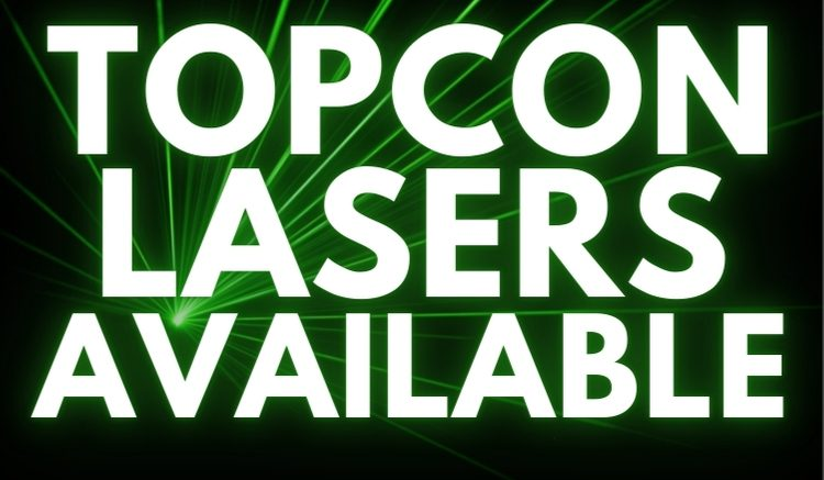 Topcon Lasers for Sale
